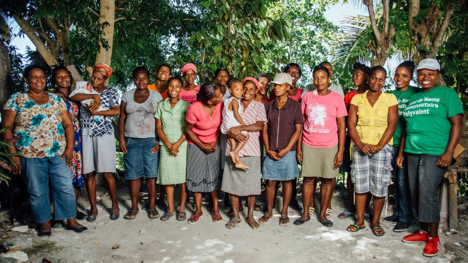 Women in Cotes-de-fer, Haiti - a CHAMPS community