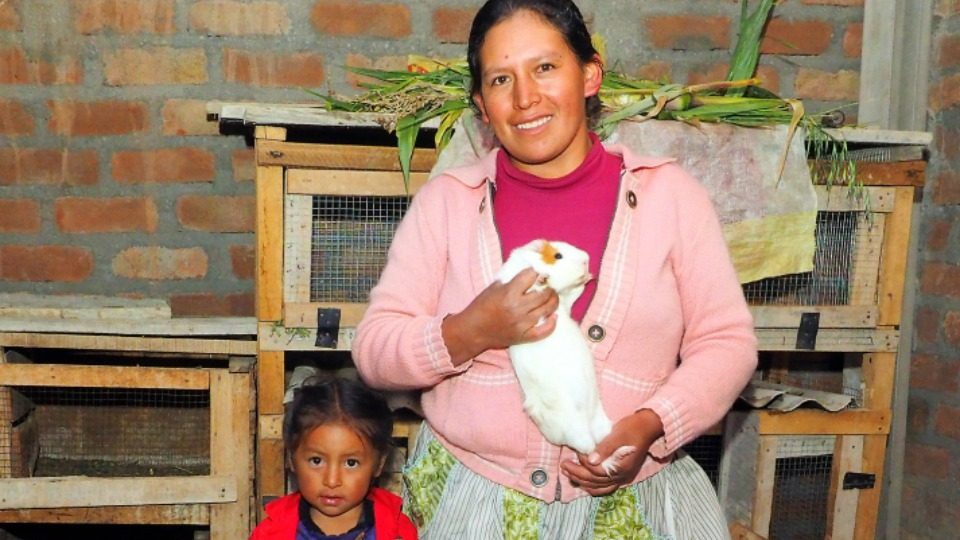 Our programs are helping Maribel and her family have a sustainable source of income.
