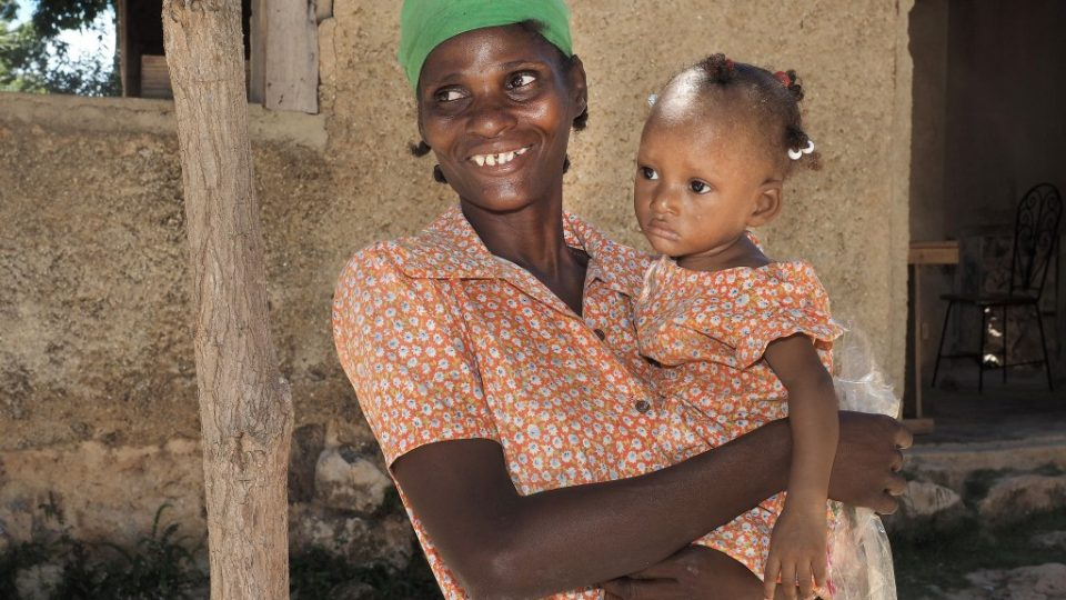 Help women and children in Haiti