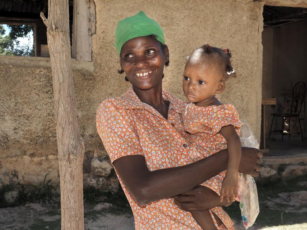 Help women and children in Haiti