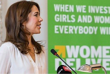 Crown Princess Mary of Denmark was among the world leaders and activists who attended the fourth annual Women Deliver conference.