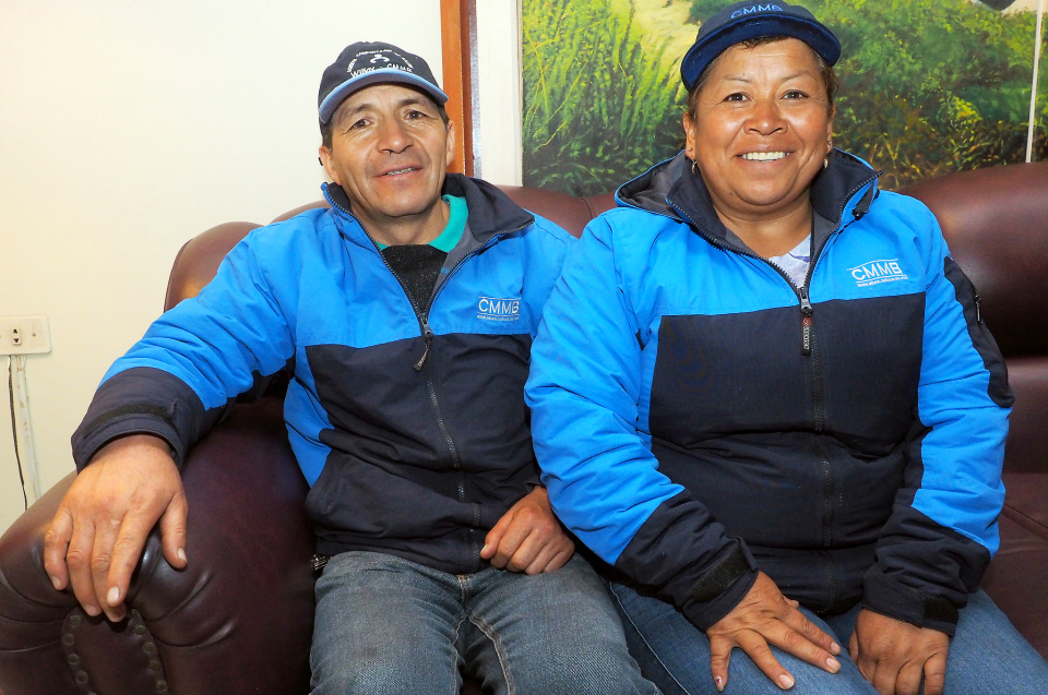 Delfina and Lourdes are CMMB's only husband and wife Community Health Workers. Together they deliver more than health to their community - they deliver hope.