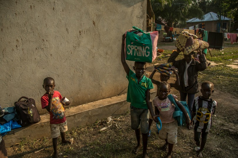 Refugees and displaced people in South Sudan
