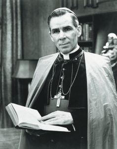 Venerable Fulton Sheen, director of CMMB, a catholic charity