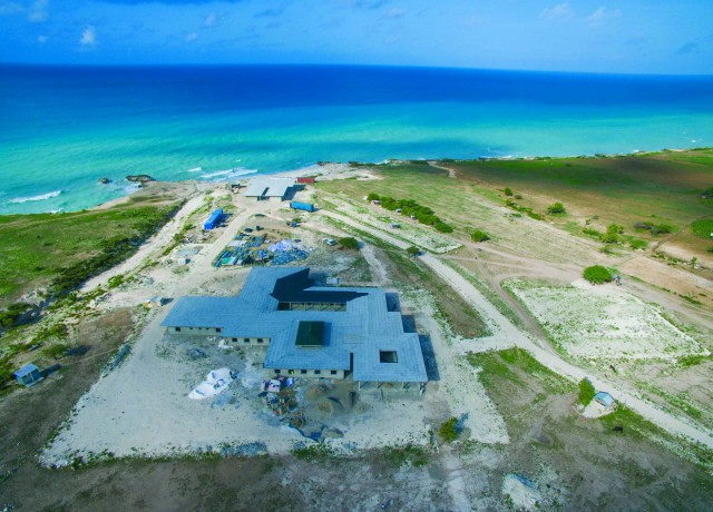 With a beautiful view of the ocean, the Bishop Joseph M. Sullivan Center for Health is scheduled to open in Haiti in 2016.