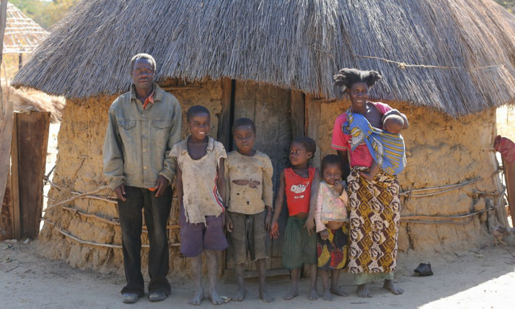 family in zambia
