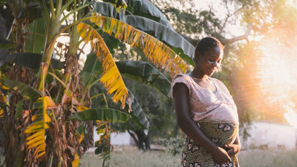 pregnant woman in zambia