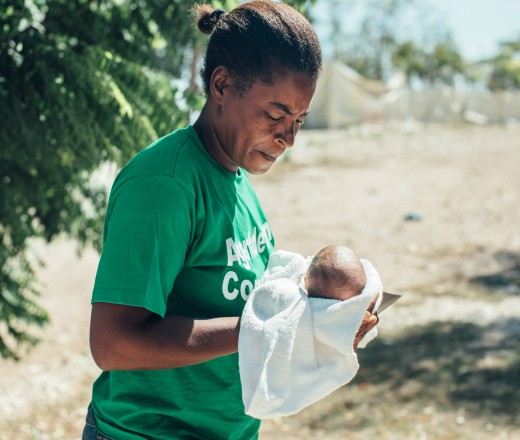 Kerna in Haiti makes a huge difference in the lives of the people she serves