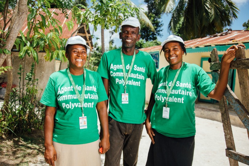 Community health workers in Haiti make a huge difference in the lives of the people in their community.