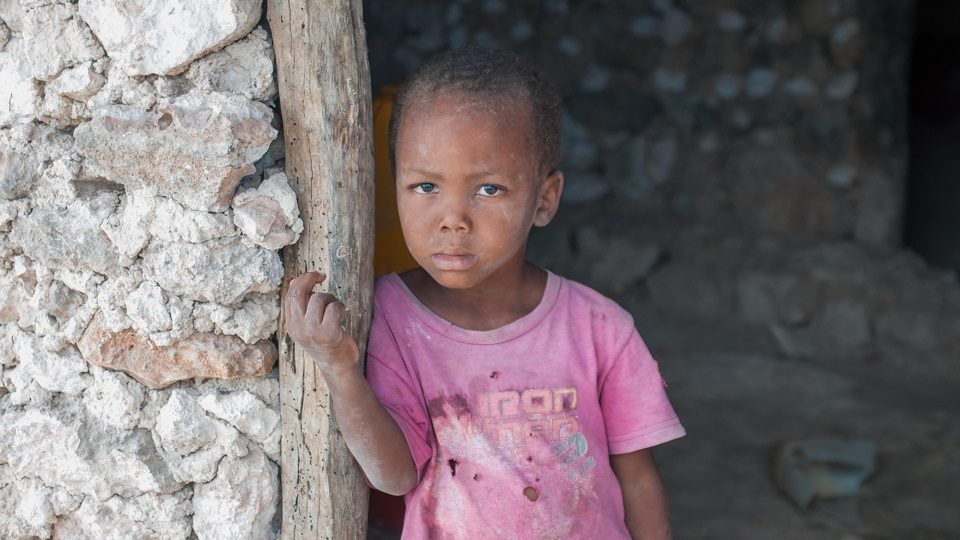 Help a child in Haiti.