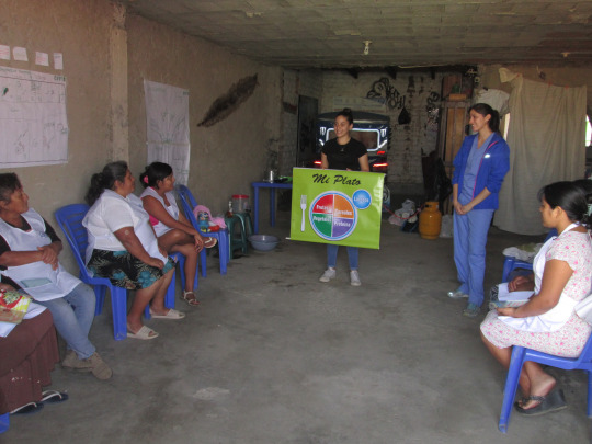 Sama improving nutrition in Trujillo, Peru. Empowering mothers to take health into their own capable hands.