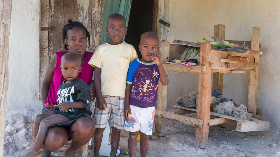 Family in Haiti needs help.