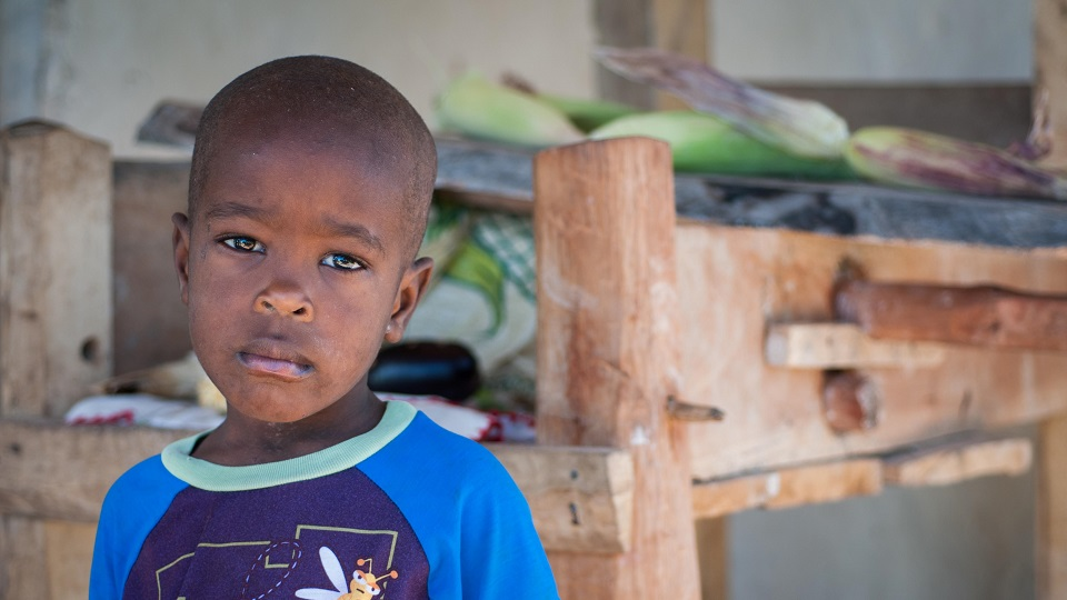 Help a child in Haiti get access to healthcare.