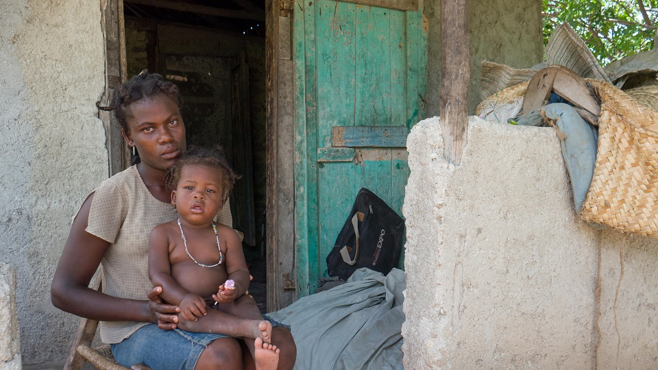 Children in Haiti need help.