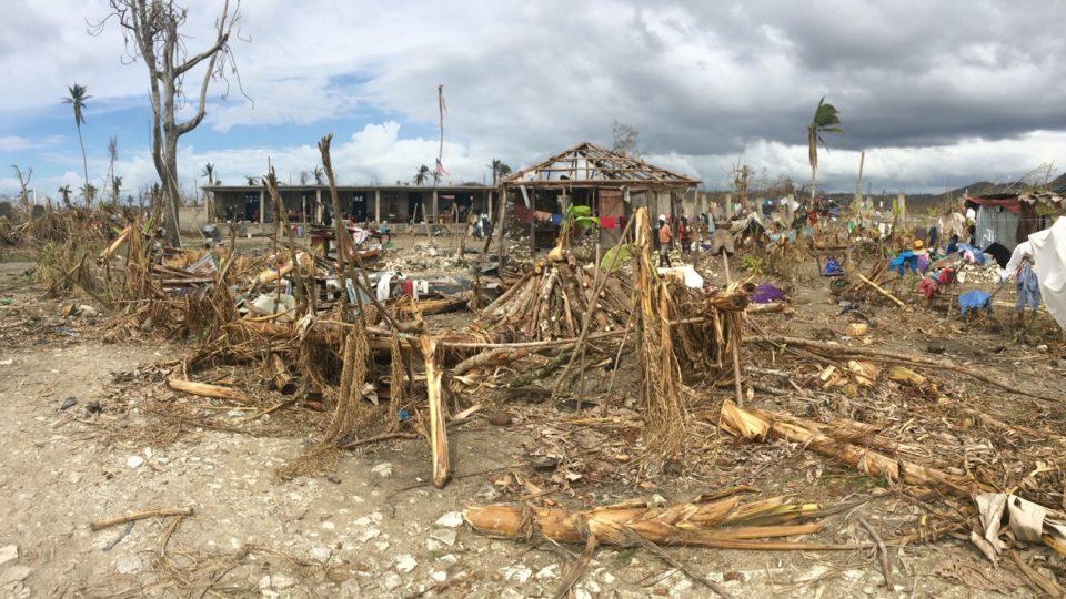 hurricane matthew destruction in Haiti