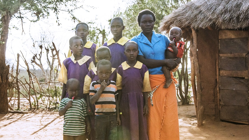Donate to support a family in Kenya