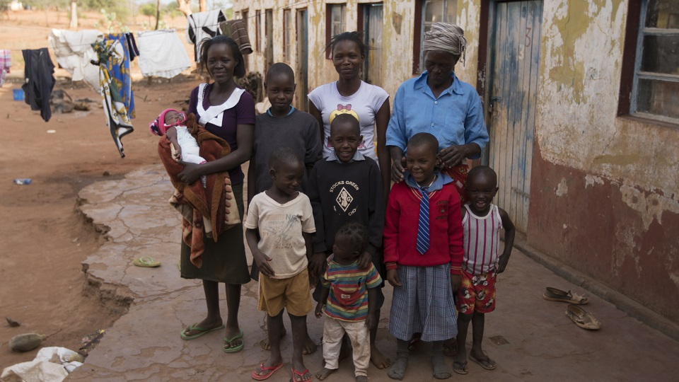 Help provide food and water to a family in Africa.
