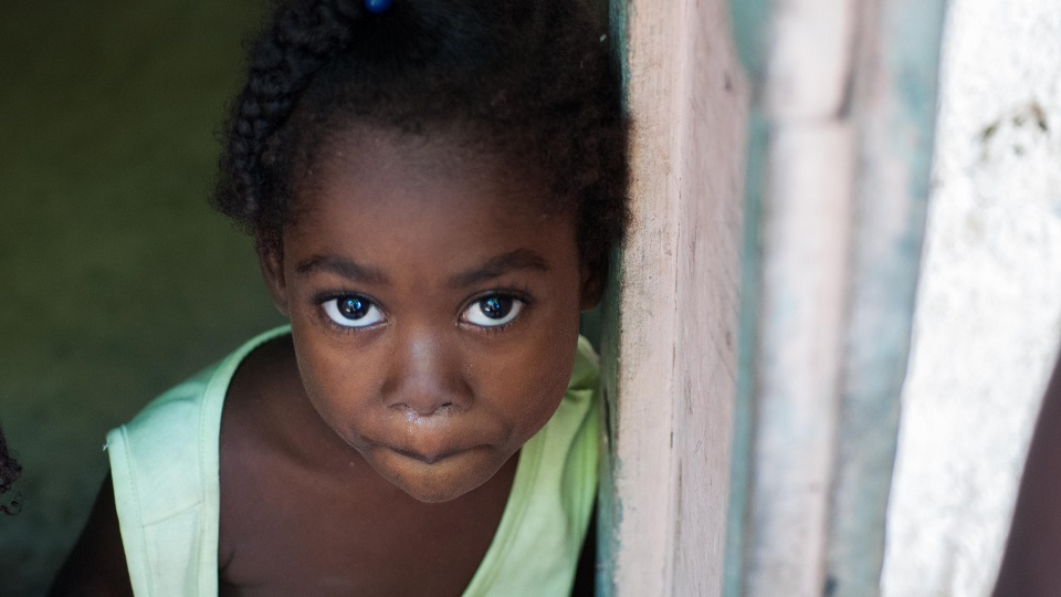 Support a child in Haiti.