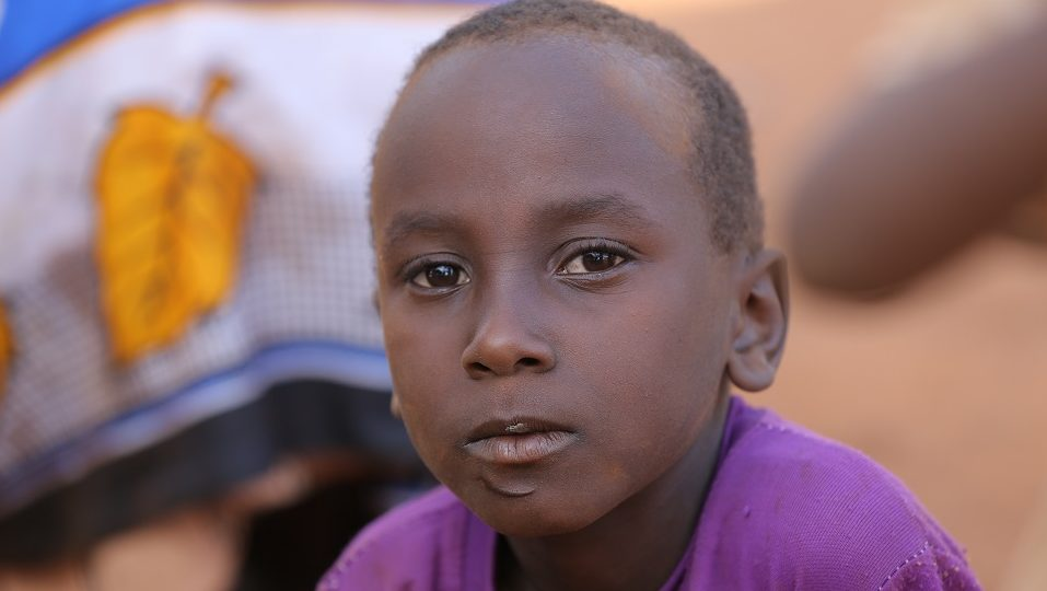 Help provide food for a child in Kenya.