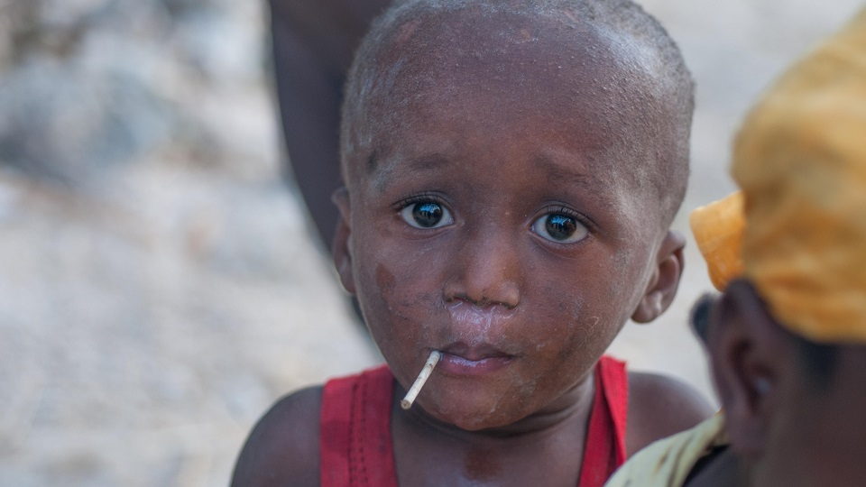 Give access to healthcare to a Haitian child.