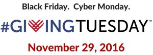 giving tuesday logo November 29 2016