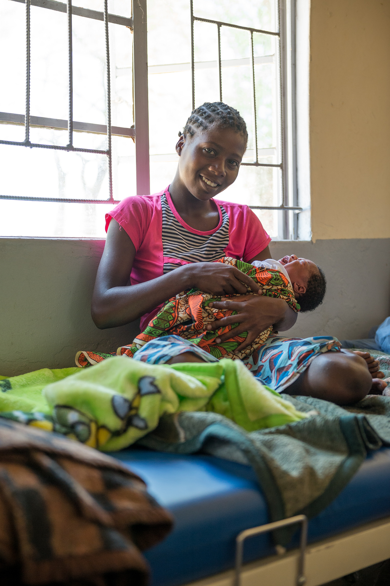 Provide shelter for a mother as she gives birth