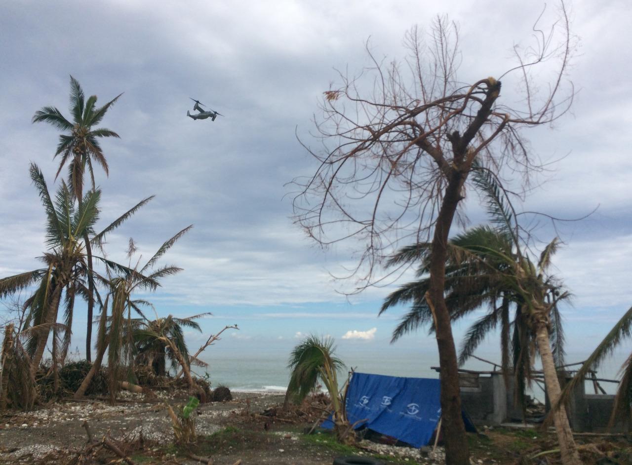 haiti after hurricane matthew from the eyes of a volunteer - damaged coastline