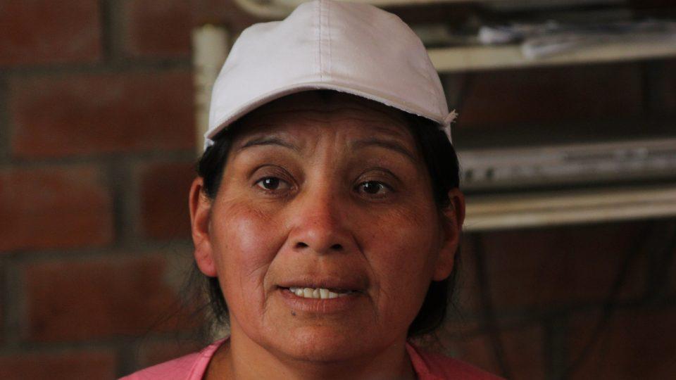 Luz Pamela's mom Grimaldina