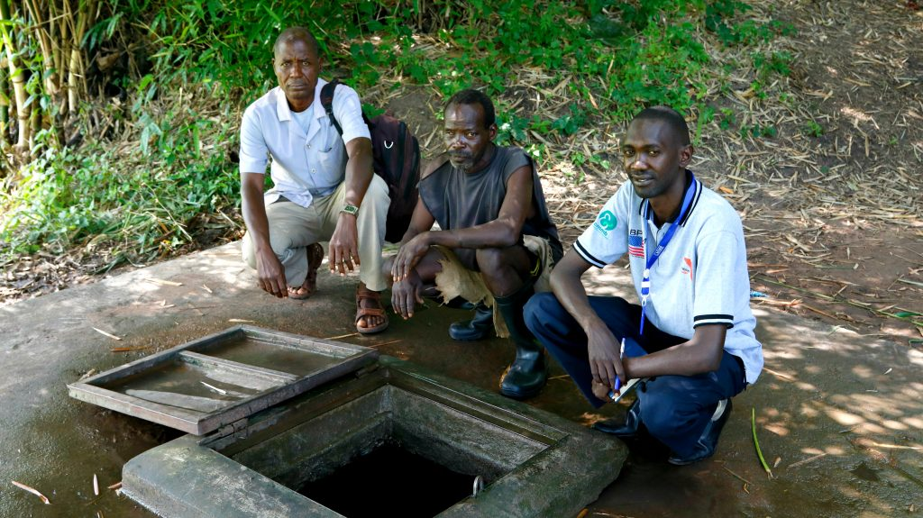 Stephen Tangun CHAMPS South Sudan knows importance of safe water points