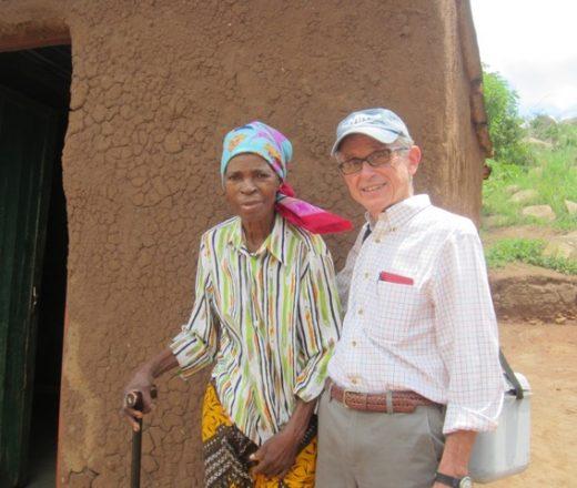 Dr. Al Hartmann in Swaziland long time volunteer