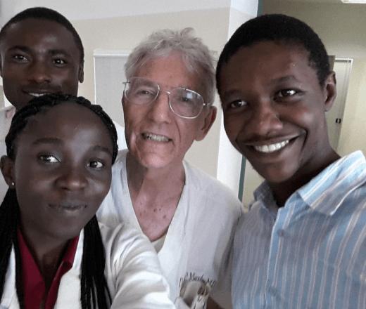 Dr. James Murphy long time volunteer in Ghana