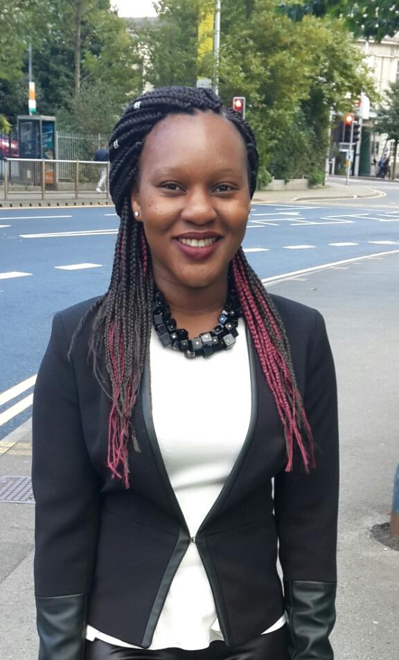 Erica Tafadzwa Beta er placement in Mwandi, Zambia