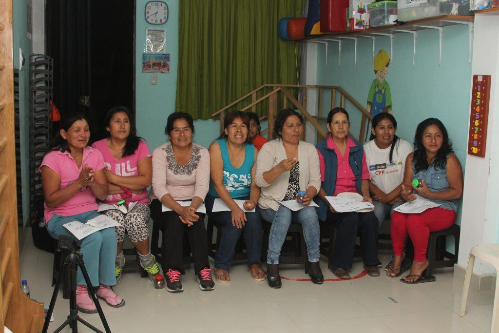 Mother's group at Rehabilitation with Hope