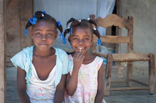 weekly reflection girls in Haiti