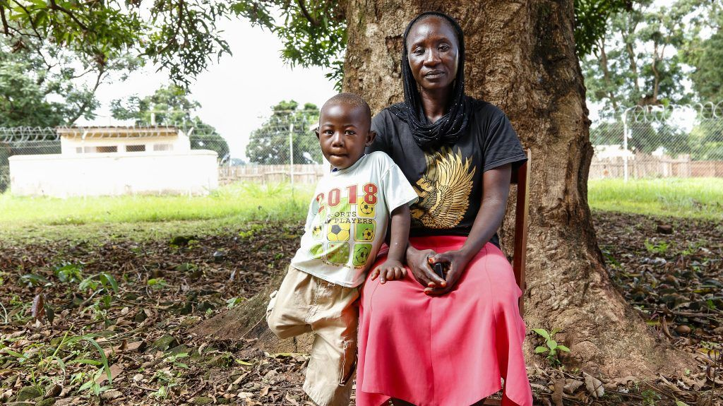 Margery is HIV-positive and participates in CMMB's PMTCT program in South Sudan