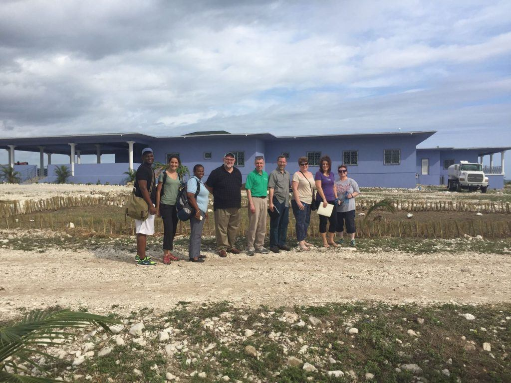 The Mercy Health mission team in Cotes-de-Fer, Haiti.