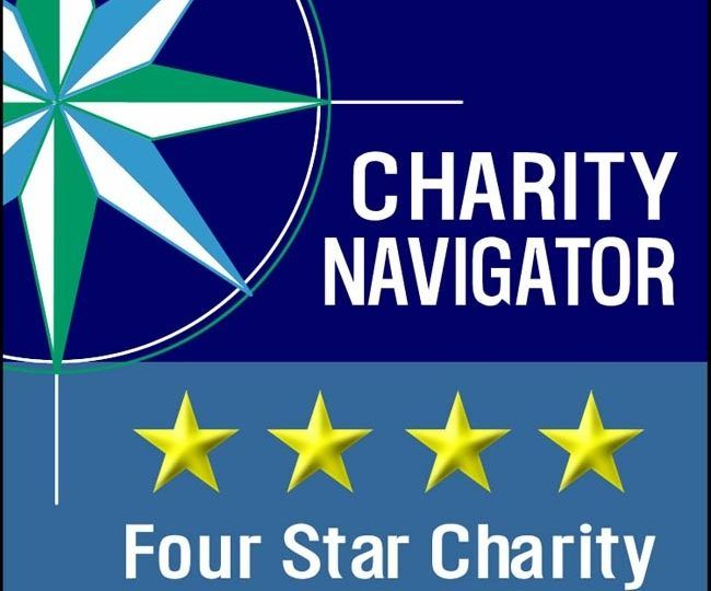 Charity navigator logo 4 star rating 6 years in a row cmmb