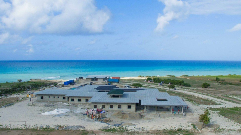 The Bishop Joseph M Sullivan Center for Help opens in Haiti, March 2017