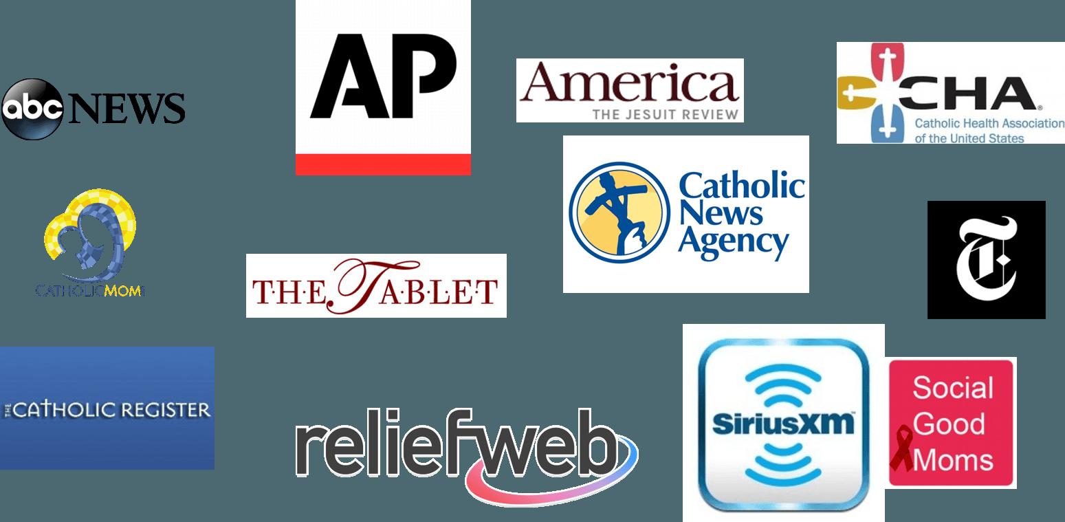 logos of all media covering BJSH