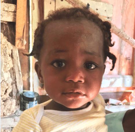 Luna our angel in Haiti