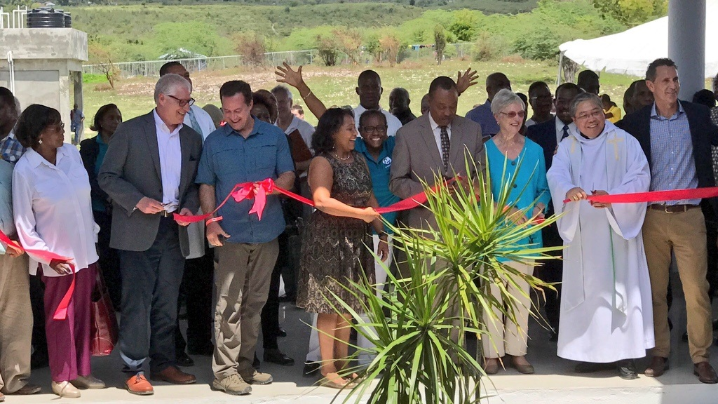Opening the Bishop Sullivan Center for Health in Cotes-de-Fer, Haiti