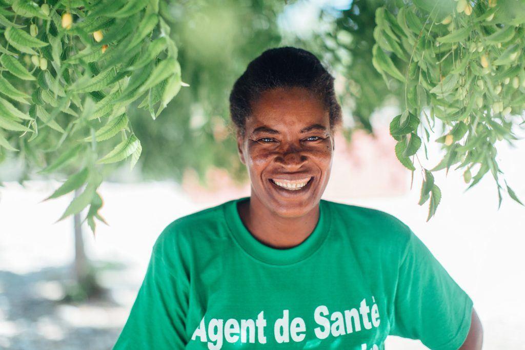 Kerna is a community health worker in Haiti