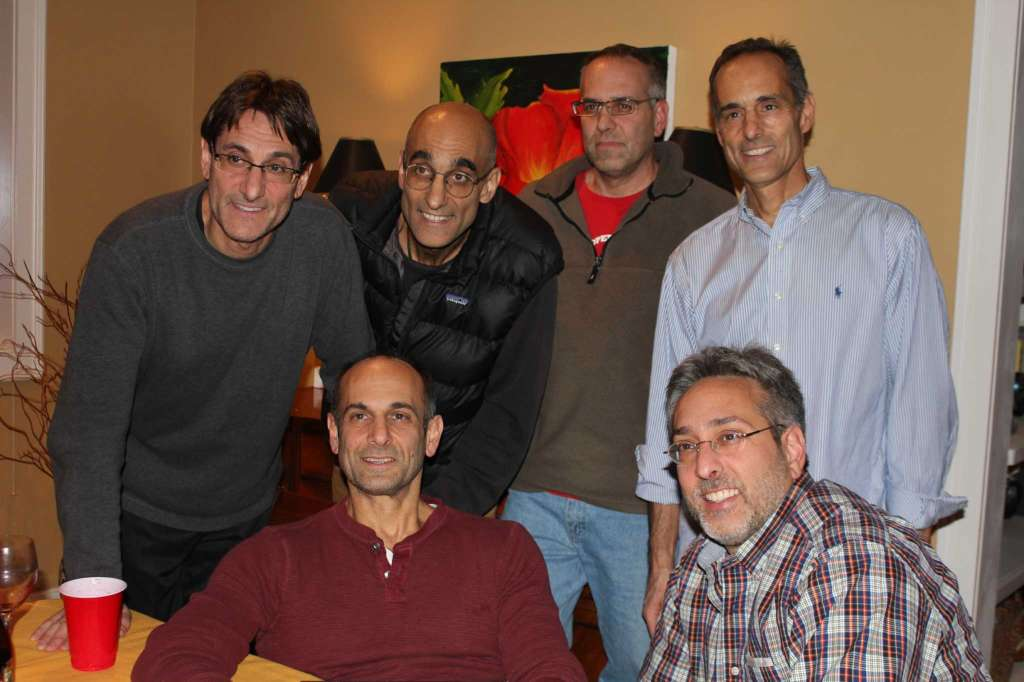 Dr. Tom cantena with his brothers