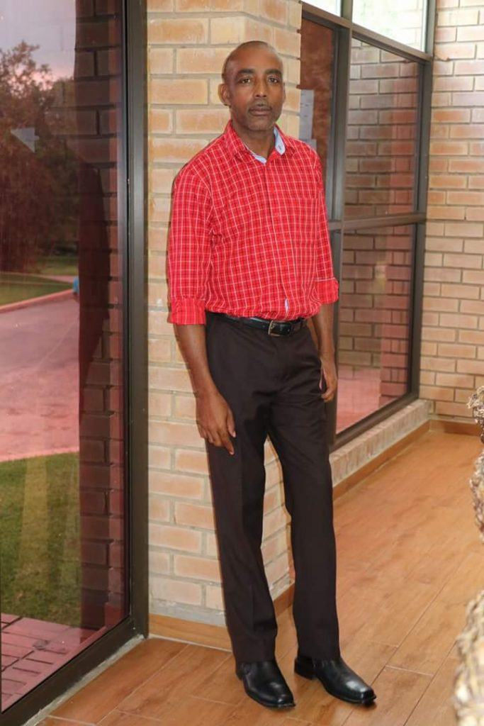 Handsome George Petros CMMB team member in Zambia