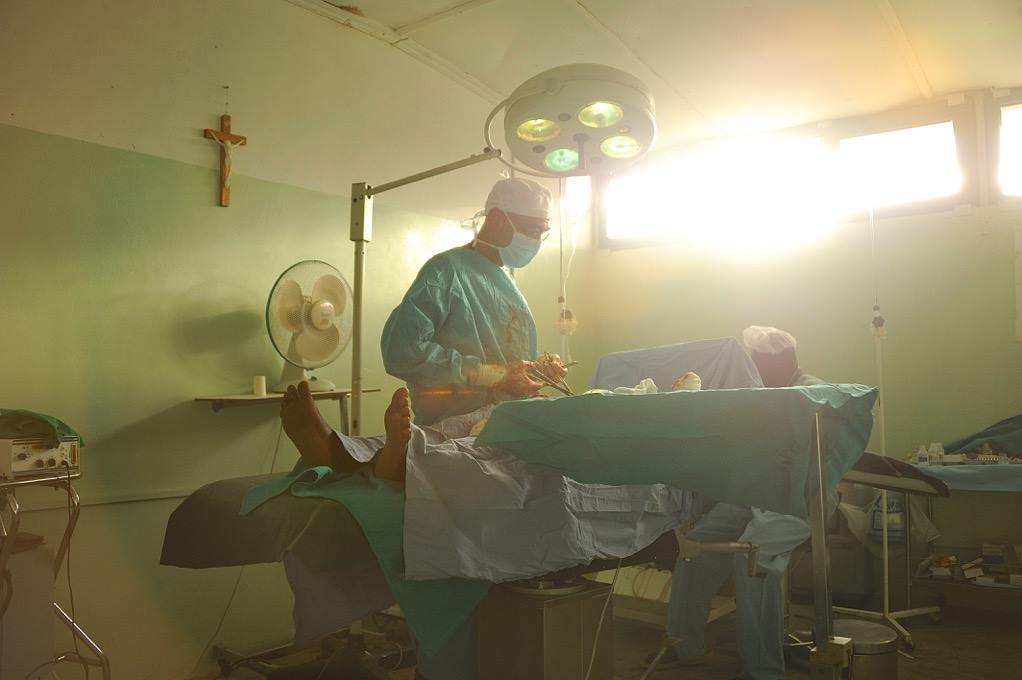 "This image of Dr. Tom in surgery is from the forthcoming documentary ""The Heart of Nuba,"" produced and directed by Kenneth Carlson"