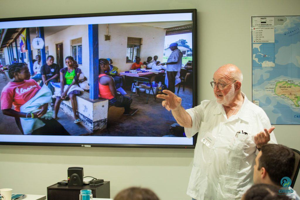 Dr. Harry Owens Jr., shares stories about his time in South Sudan.