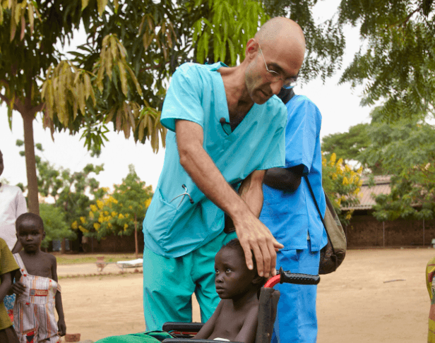 Dr. Tom Cantena doctor in Sudan