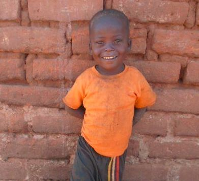 David lives in Kenya and needs food and water.