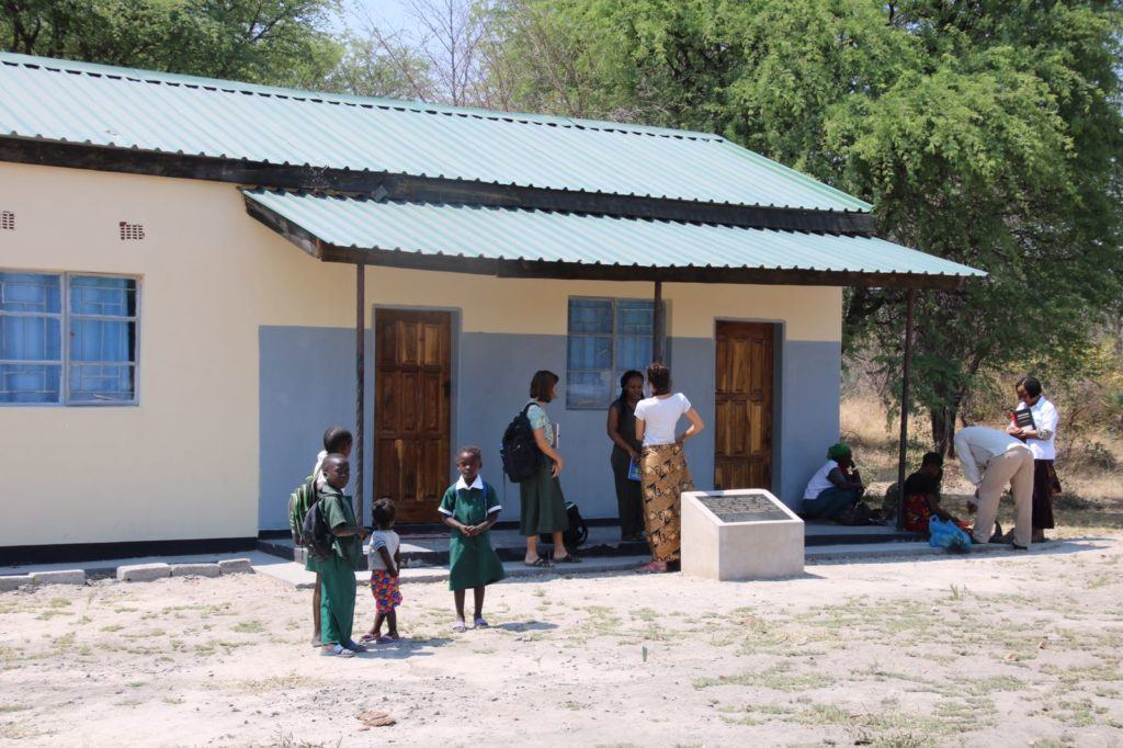 A mother's shelter donated by CMMB to provide a safe place to await pregnancy for those living very far from health facilities