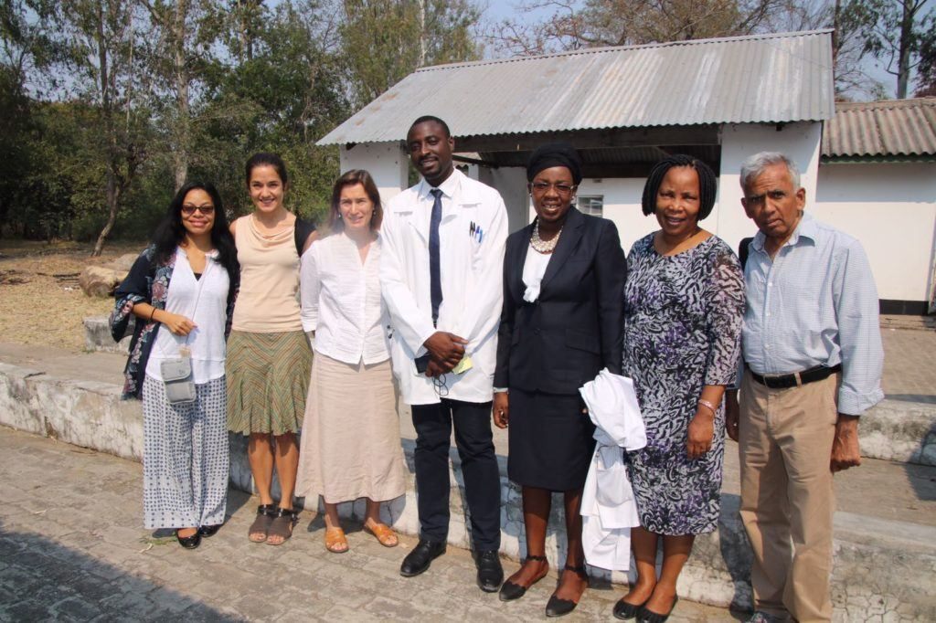 After an exceptional symposium given by a University of Zambia medical student.